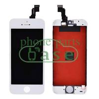 For Apple iPhone 5C Original A++ LCD Screen Replacement with Touch Digitizer and Frame-White