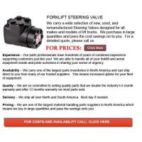 Quality Forklift Steering Valve for sale
