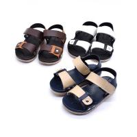 China wholesale summer beach leather kids cheap best toddler boy sandals shoes on sale