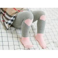 China wholesale little girl cotton warm winter cute newborn infant toddler baby tights socks on sale