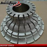 Quality Vacuum Brazed Diamond Hand Profiling Wheel for Granite and Marble for sale