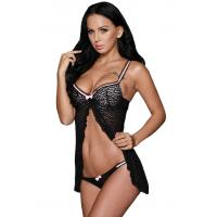 Buy cheap Plus Size Sexy French Maid Victoria's Secret Babydoll Lingerie from wholesalers