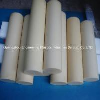 Quality Guangzhou customized plastic material rods tough hard pvc round plastic bar for sale