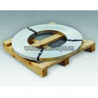 Zinc coated steel strapping ribbon