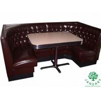 Quality Corner Restaurant Furniture Sets with Corner Booths and Tables for Dining Seating for sale