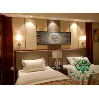 Quality Mahogany Finishing Bed Dresser Tables and Chairs Furniture for Holiday Hotels for sale