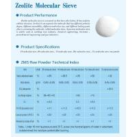 Quality Zeolite Molecular Sieve for sale