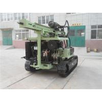 China Crawler Hydraulic Helical Ground Screw Pile Driver on sale