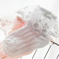 China Cotton Baby Girl Socks,Kids Ruffled Meias Infantil Knitted Knee Lace Baby Socks Newborn on sale