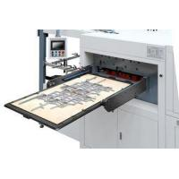 Quality High Speed Roll Paper Flat Die Cutting Machine , Paper Creasing Machine For Gift Box for sale