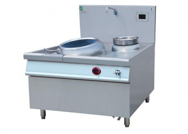 China Commercial Wok Cooking Range , Induction Stove Wok With Single Burner / Pot