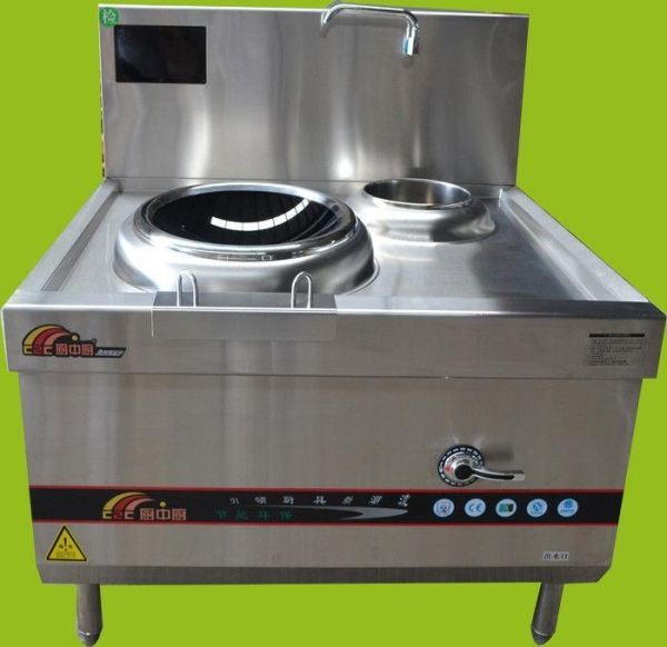 China Commercial Single Wok Burner , Large Deep Fryer SUS 304 S / S Material