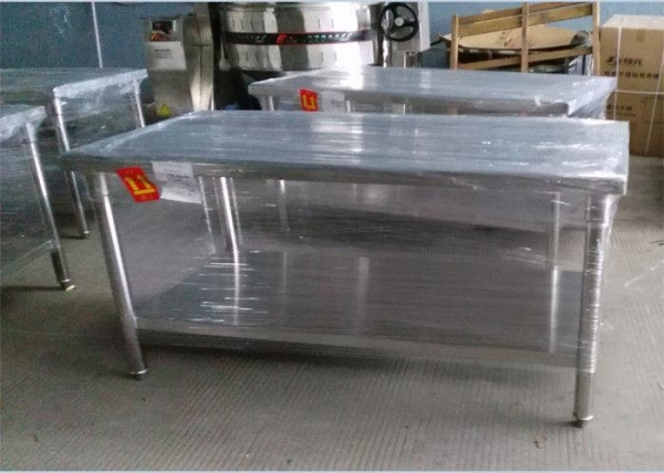 China Durable 304 Stainless Steel Work Table For Home / Commercial 1500*800*600mm
