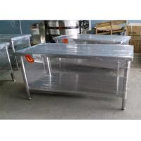 Buy cheap Durable 304 Stainless Steel Work Table For Home / Commercial 1500*800*600mm from wholesalers