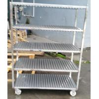 Quality Full 304 Stainless Steel Trolley With Square Tube Thickness 1.0mm Slideable Available for sale