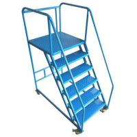 China Steel Ladder Trolley for Handle Items on High Level on sale