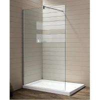 SUS 304 Frameless Shower Walk-in with Froested Glass