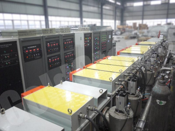 China Air-to-air Solar Absorption Strip Sputtering Production Line