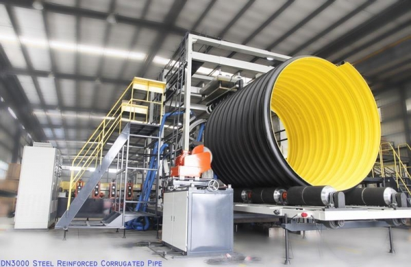 China Steel Reinforced Corrugated Pipe