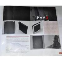 100% BRAND NEW LEATHER CASE FOR IPAD3