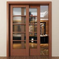 Glass interior Doors and Entry French Doors from China Manufactory
