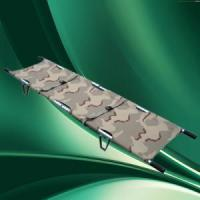 Quality Stretcher Aluminium Alloy Emergency Pole Foldable Stretcher with carry bag. for sale