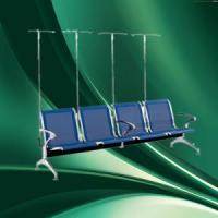 Quality ISO power coated manual hospital waiting chairs for sale