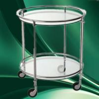 Quality Hospital Utility Medical Metal Cart Trolley With Wheels for sale