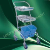 Quality hospital crash cart abs medical emergency trolley for sale