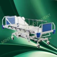 Quality Height Manual Hospital Bed with Rails for sale