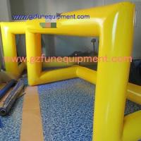 Air tight inflatable games Inflatable goal post for bumper ball