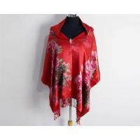 China Women Winter Warm Silk Velvet Burnout Scarves and Shawl for Ladies on sale