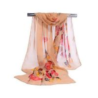 Buy cheap Fashion Black, Red, Green Long Polyester Printing Soft Pashmina Scarf for Women Beach Suncover from wholesalers