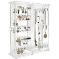 Quality acrylic jewelry display floor stand for sale