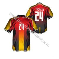 China 2017 new design custom soccer team jersey on sale