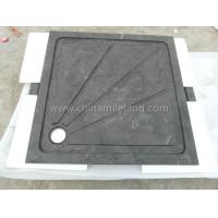 Quality Neo Color Square Limestone Shower Tray with Water Backflow Lines for sale