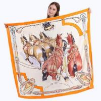 China Super Soft Twill Silk Scarves for women on sale