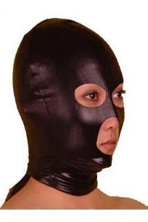 Buy Sexy Toys Spandex With Latex Hood Full Mask at wholesale prices