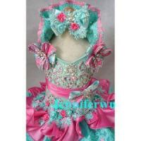 Quality Infant Girl's Glitz Pageant Dress G015A for sale