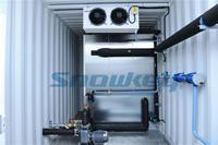 Quality Concrete Cooling System Containerized Water Chiller for sale
