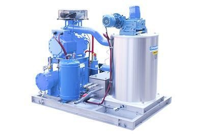 Buy Concrete Cooling System Sea Water Flake Ice Machine for Ship at wholesale prices