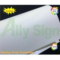 290 Microns PVC Surface + PET Back Rigid Film For Roll Up Stand