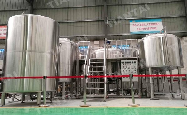 China 20BBL Stainless steel Steam Mash Tun/ brewing equipment