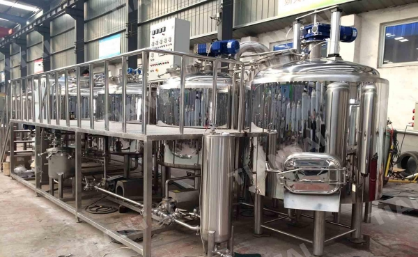 China 7BBL Steam Mash Tun for micro beer equipment