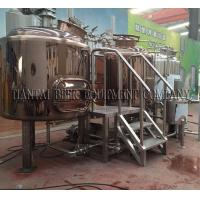 Quality 4BBL Steam Mash Tun for steam brewing system for sale