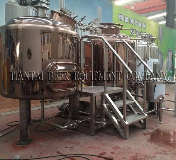 China 4BBL Steam Mash Tun for steam brewing system