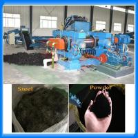Quality Automatic whole tire recycling plant rubber powder machine for sale