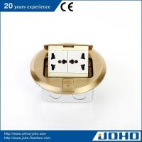 Quality Brass Round Shape Pop Up Floor Power Socket for sale