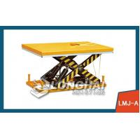 Quality Air Casters Electric Hydraulic Scissor Lift Table for sale