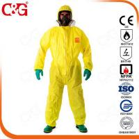 Quality Chemical protective garments for sale